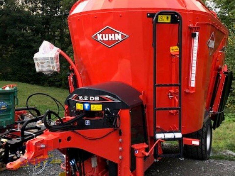 Futtermischwagen des Typs Kuhn 16.2 DS, Neumaschine in Lindenfels-Glattbach (Bild 1)