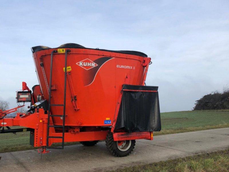 Futtermischwagen des Typs Kuhn 870 Euromix, Gebrauchtmaschine in Gerzen (Bild 1)