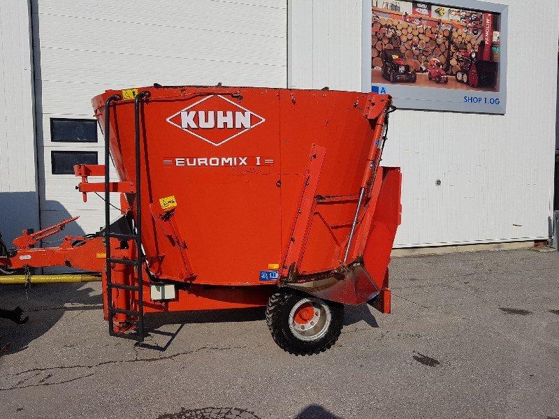 Futtermischwagen des Typs Kuhn Euromix I 870 Futtermischwagen, Gebrauchtmaschine in Chur (Bild 1)