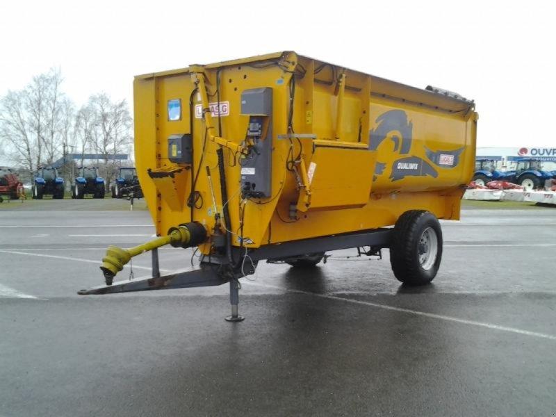 Futtermischwagen des Typs Lucas QUALIMIX+150M, Gebrauchtmaschine in ANTIGNY (Bild 1)