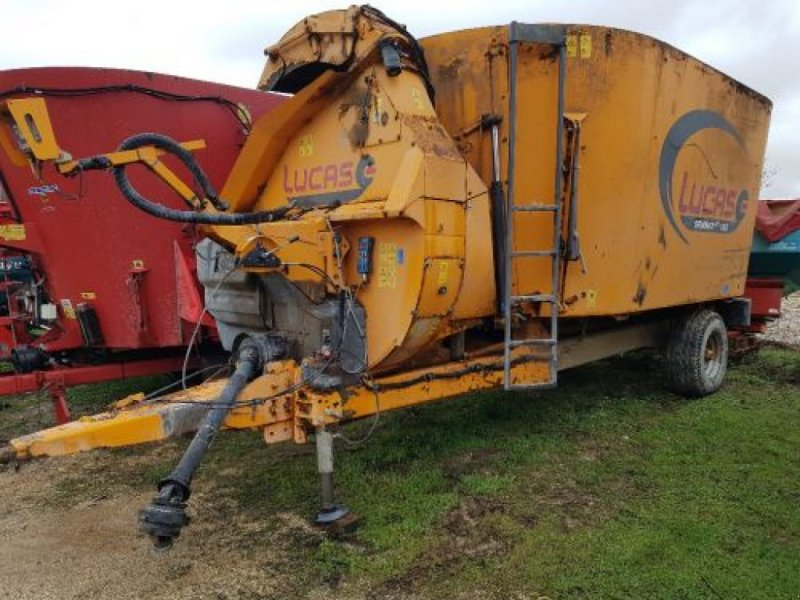 Futtermischwagen des Typs Lucas SPIRMIX 160, Gebrauchtmaschine in Belleville sur Meuse (Bild 1)