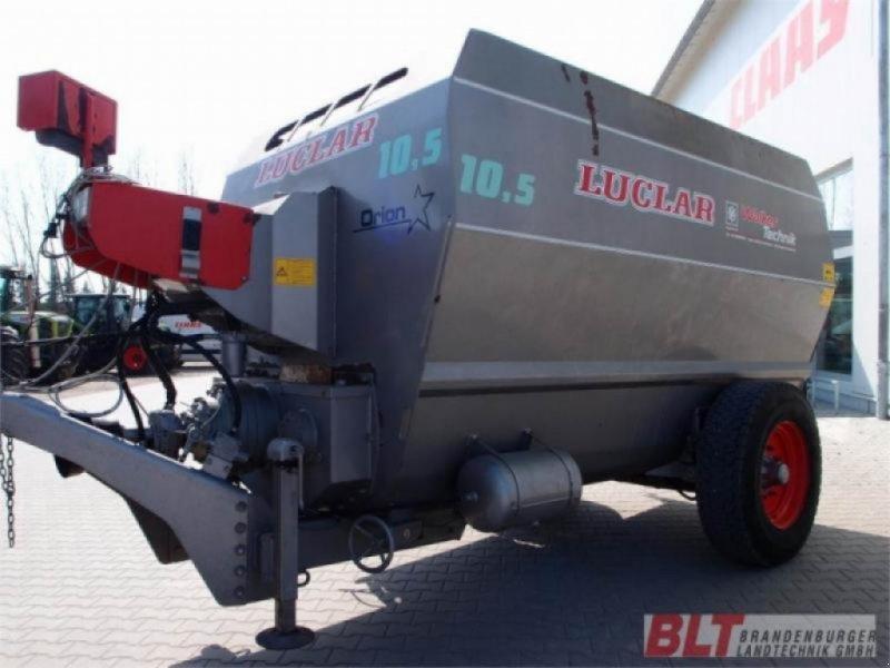 Futtermischwagen des Typs Luclar Crono Luclar Orion 10.5, Gebrauchtmaschine in Rhinow (Bild 1)