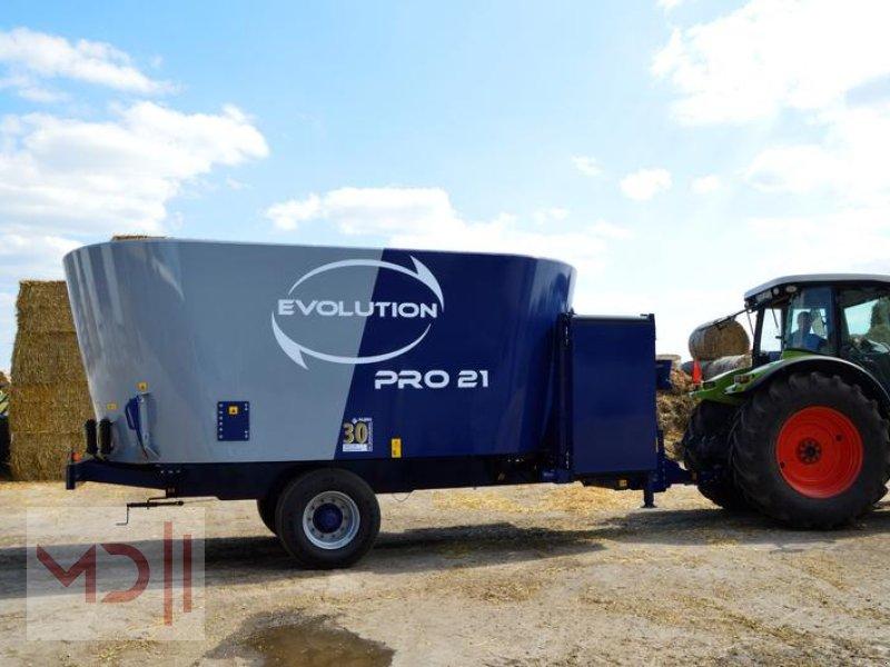 Futtermischwagen des Typs MD Landmaschinen Alima BIS Futtermischwagen 14m³ Evolution Pro Twin, Neumaschine in Zeven (Bild 1)