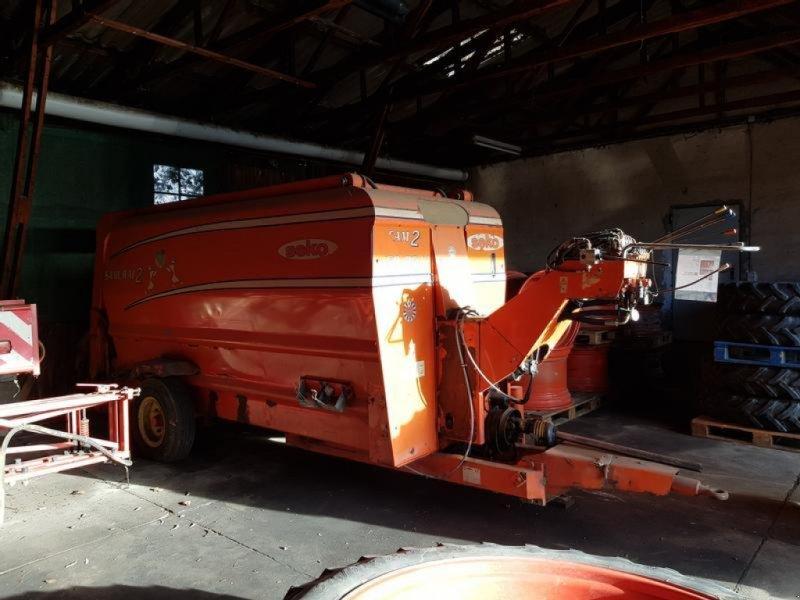 Futtermischwagen des Typs Seko Samurai 2 450/85 tl, Gebrauchtmaschine in Eppingen (Bild 1)