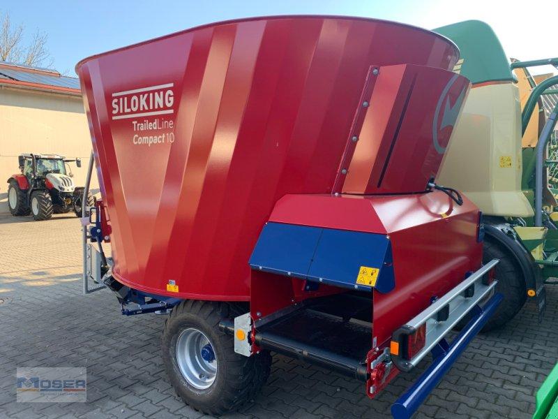 Futtermischwagen des Typs Siloking Compact 10-T, Neumaschine in Massing (Bild 1)