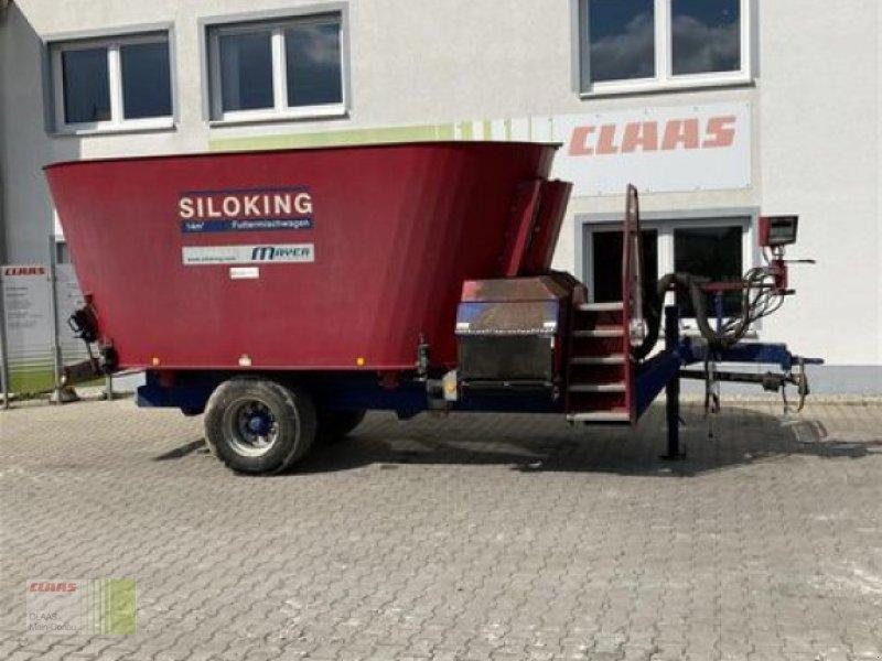 Futtermischwagen des Typs Siloking DUO 14M³, Gebrauchtmaschine in Aurach (Bild 1)