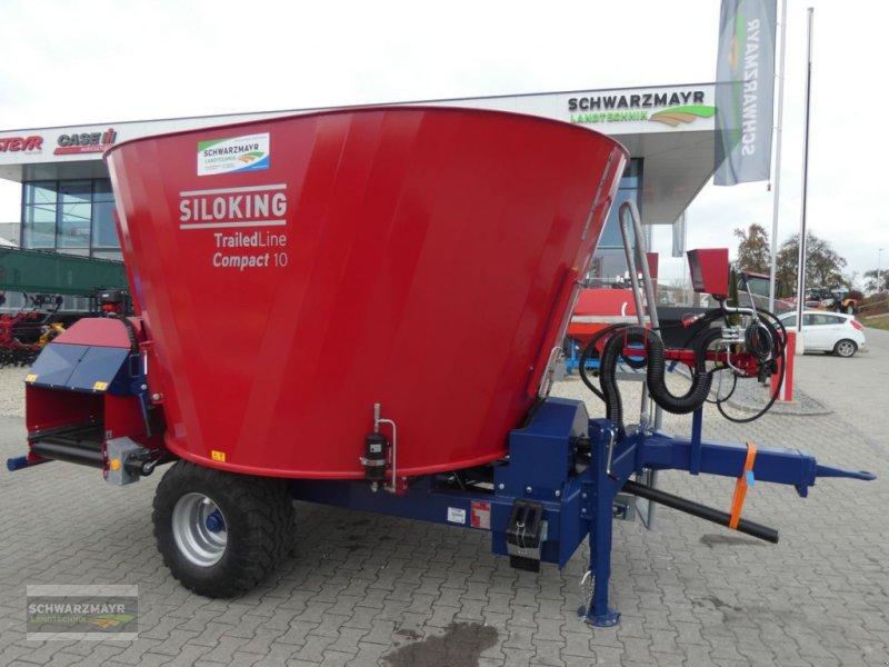 Futtermischwagen des Typs Siloking Kompakt 10m³T, Neumaschine in Aurolzmünster (Bild 1)