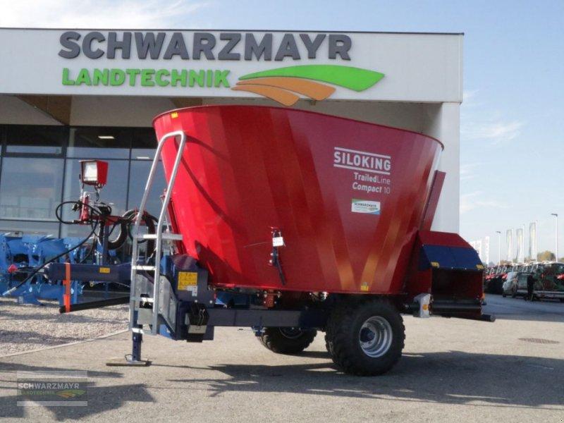 Futtermischwagen des Typs Siloking Kompakt 10m³T, Neumaschine in Gampern (Bild 1)