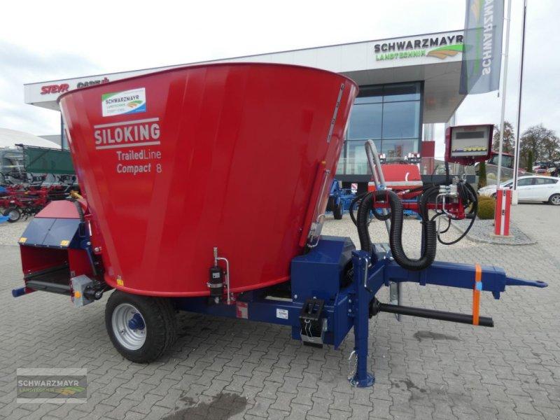 Futtermischwagen des Typs Siloking Kompakt 8m³, Neumaschine in Aurolzmünster (Bild 1)