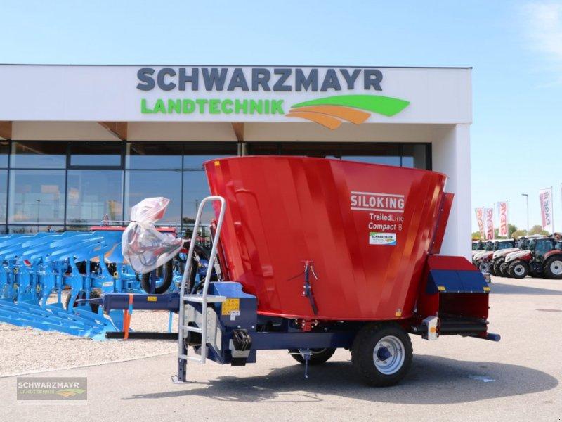 Futtermischwagen des Typs Siloking Kompakt 8m³, Neumaschine in Gampern (Bild 1)