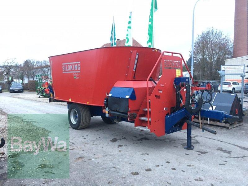 Futtermischwagen des Typs Siloking Trailed Line DUO 14 mit DATA T WLAN-Waage, Gebrauchtmaschine in Dinkelsbühl