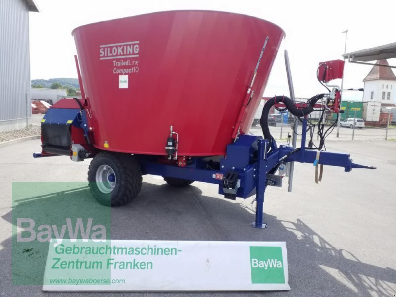 Futtermischwagen des Typs Siloking TRAILEDLINE CLASSIC COMPACT 10, Vorführmaschine in Bamberg (Bild 1)