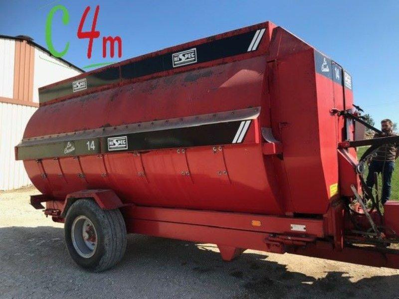Futtermischwagen des Typs Sonstige LA COCOTTE 14, Gebrauchtmaschine in UZEMAIN (Bild 1)