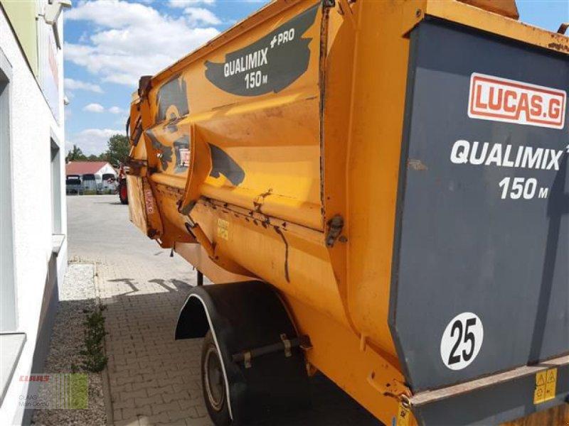 Futtermischwagen des Typs Sonstige QUALIMIX+PRO 150M LUCAS, Gebrauchtmaschine in Aurach (Bild 4)