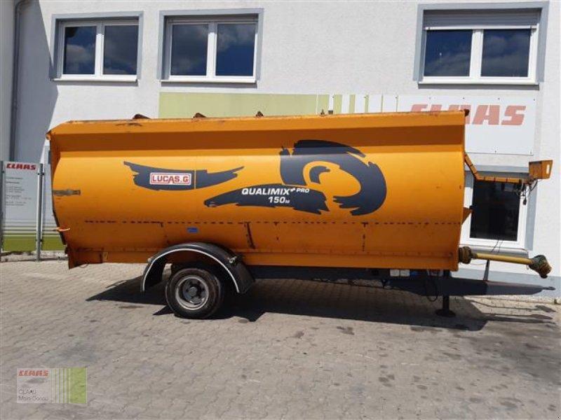 Futtermischwagen des Typs Sonstige QUALIMIX+PRO 150M LUCAS, Gebrauchtmaschine in Aurach (Bild 2)