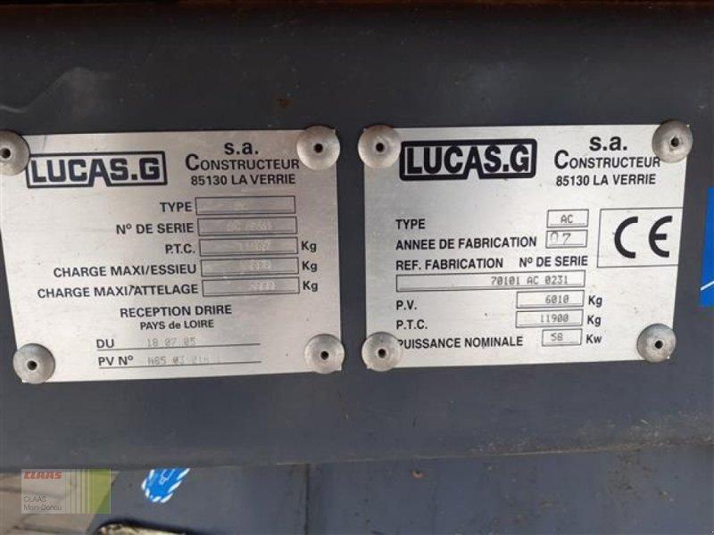 Futtermischwagen des Typs Sonstige QUALIMIX+PRO 150M LUCAS, Gebrauchtmaschine in Aurach (Bild 12)