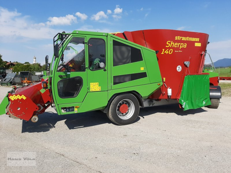Futtermischwagen des Typs Strautmann Sherpa 140, Gebrauchtmaschine in Antdorf (Bild 1)