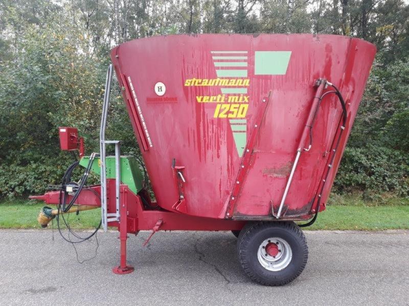 Futtermischwagen des Typs Strautmann Verti-Mix 1250, Gebrauchtmaschine in Itterbeck (Bild 1)