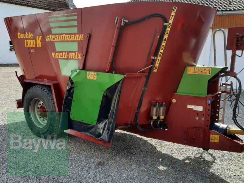 Futtermischwagen des Typs Strautmann Verti-Mix 1300 Double K, Gebrauchtmaschine in Rain (Bild 1)