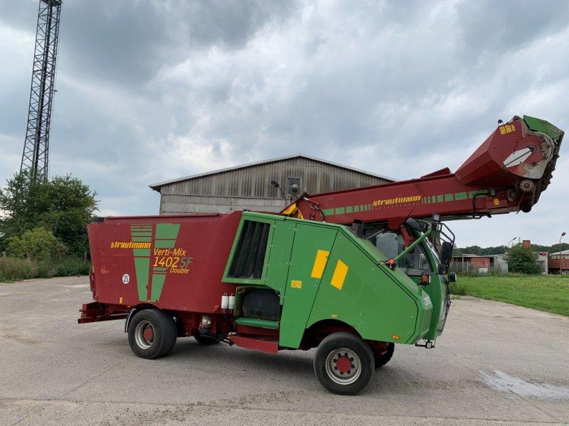 Futtermischwagen des Typs Strautmann Verti-Mix 1400 Double, Gebrauchtmaschine in Lüdersdorf OT Wahrsow (Bild 1)