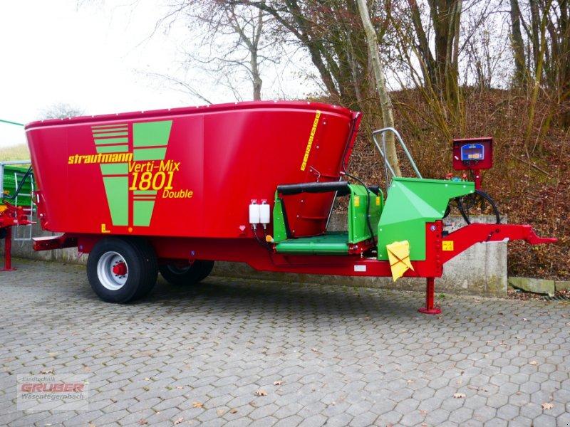 Futtermischwagen des Typs Strautmann Verti-Mix 1801 Double - 14cbm - erweiterbar auf 18cbm, Neumaschine in Dorfen (Bild 1)