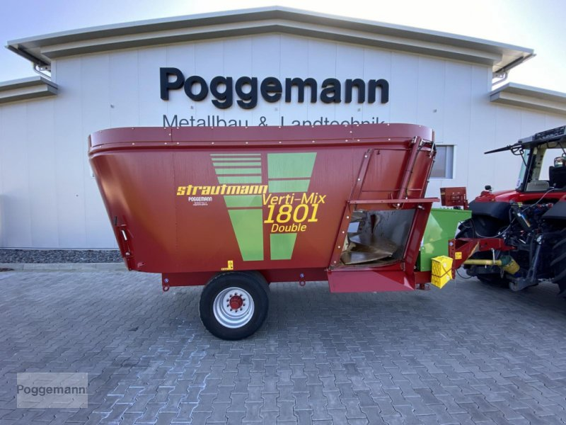 Futtermischwagen des Typs Strautmann Verti-Mix 1801 Double, Vorführmaschine in Bad Iburg - Sentrup (Bild 1)