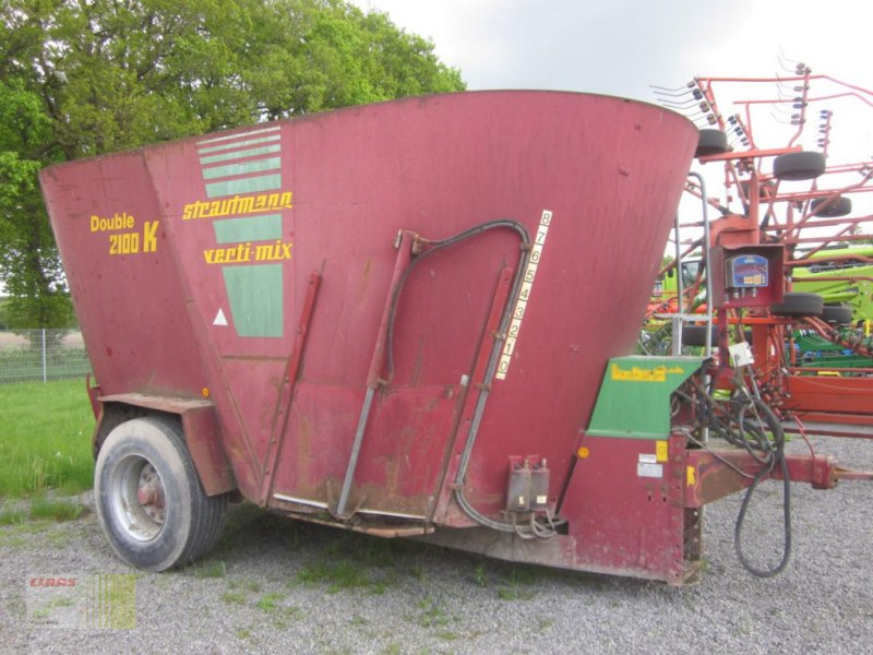 Futtermischwagen des Typs Strautmann Verti-Mix 2100 Double K, 21 cbm, Waage, Gebrauchtmaschine in Neerstedt (Bild 1)
