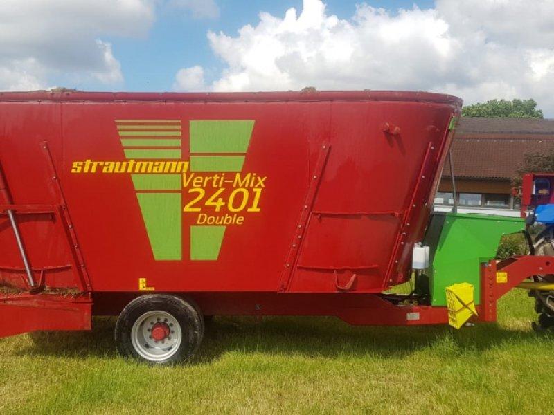 Futtermischwagen des Typs Strautmann Verti-Mix 2401 Double Futtermischwagen ‼️Neuwertig ‼️, Gebrauchtmaschine in Amerbach (Bild 1)