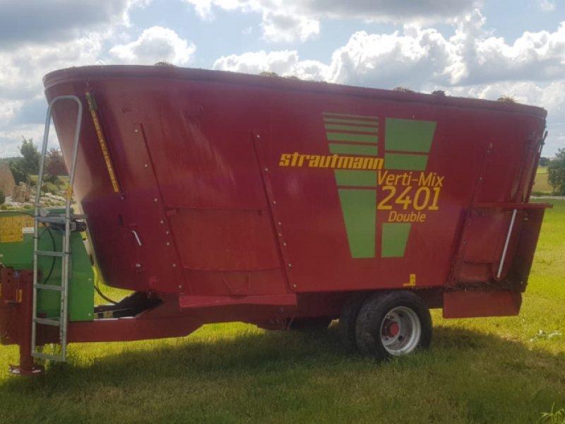 Futtermischwagen des Typs Strautmann Verti-Mix 2401 Double Futtermischwagen ‼️Neuwertig ‼️, Gebrauchtmaschine in Amerbach (Bild 2)
