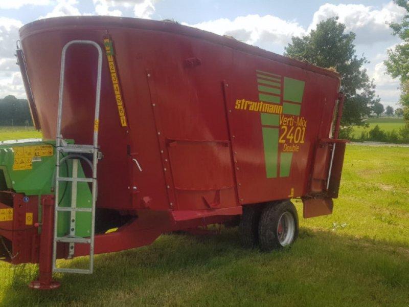 Futtermischwagen des Typs Strautmann Verti-Mix 2401 Double Futtermischwagen ‼️Neuwertig ‼️, Gebrauchtmaschine in Amerbach (Bild 5)