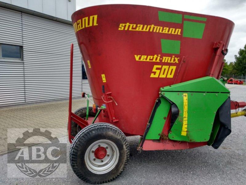 Futtermischwagen des Typs Strautmann VERTI-MIX 500, Gebrauchtmaschine in Langenstein (Bild 1)