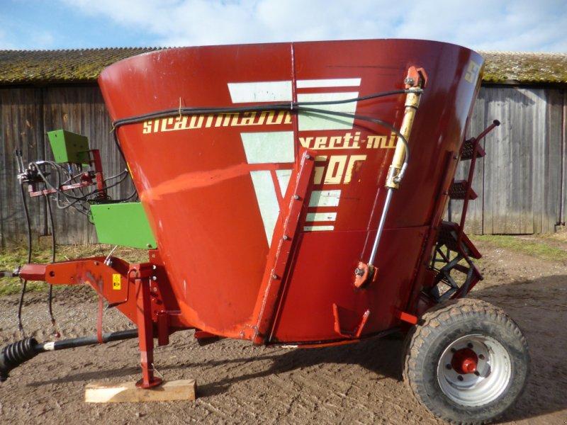 Futtermischwagen des Typs Strautmann Verti-Mix 500, Gebrauchtmaschine in Obernzenn (Bild 1)