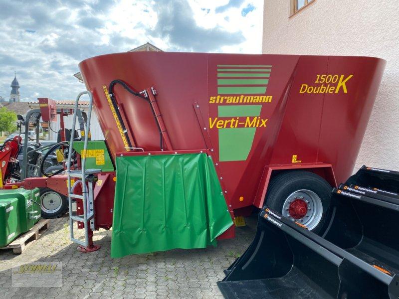 Futtermischwagen des Typs Strautmann Verti-Mix Double 1500 K, Neumaschine in Söchtenau (Bild 1)