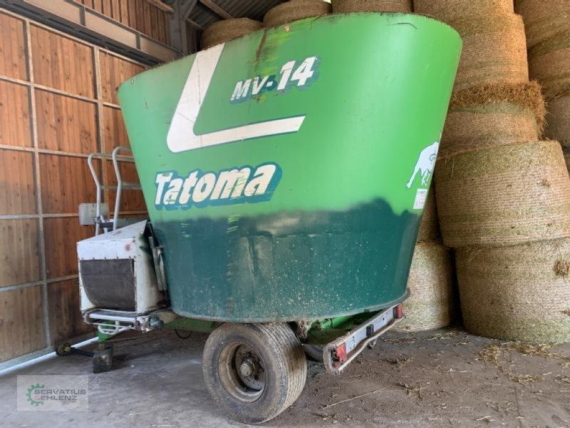 Futtermischwagen типа Tatoma MV - 14 komplett aufgepanzert und sofort einsatzbereit Reserviert, Gebrauchtmaschine в Rittersdorf (Фотография 1)