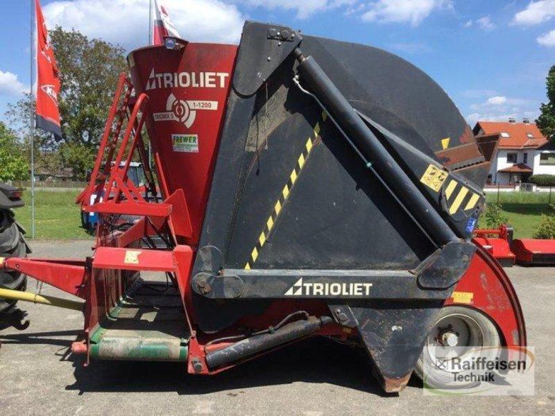 Futtermischwagen des Typs Trioliet Futtermischwagen S 12, Gebrauchtmaschine in Trendelburg (Bild 1)