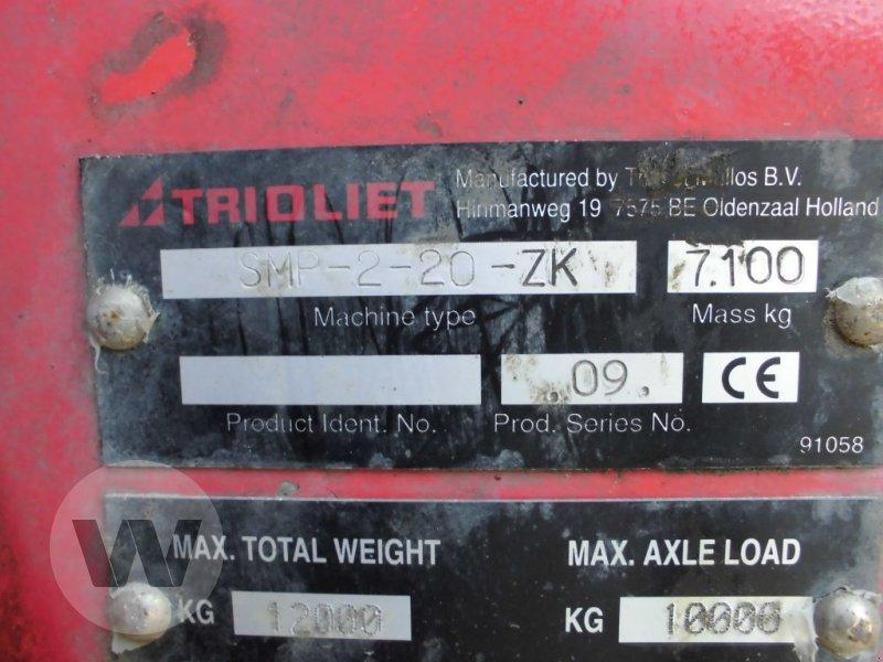 Futtermischwagen des Typs Trioliet SMP-2-20-ZK, Gebrauchtmaschine in Husum (Bild 2)