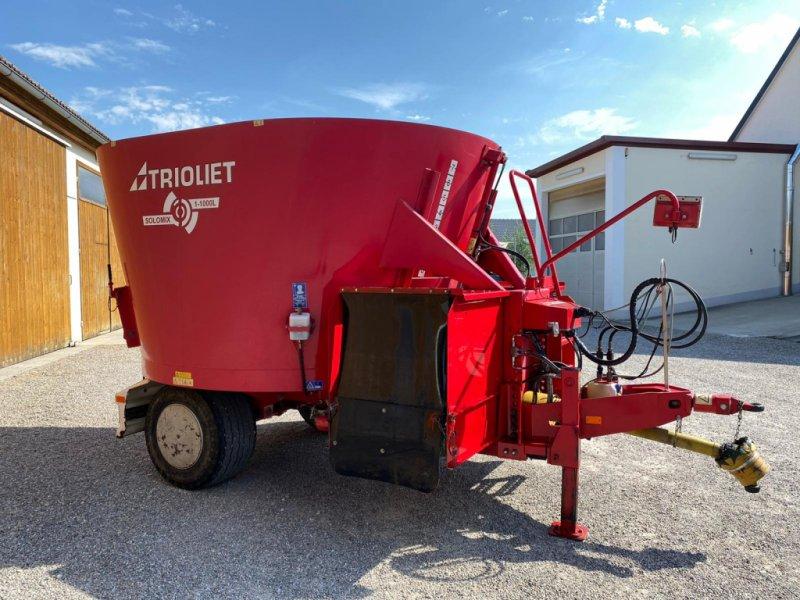 Futtermischwagen des Typs Trioliet Solomix 1-1000 L, Gebrauchtmaschine in Friedberg (Bild 1)