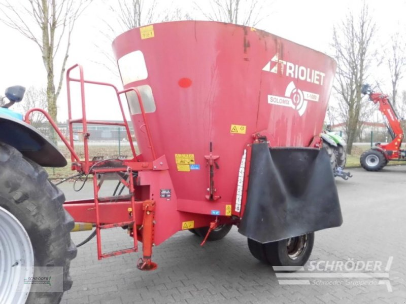 Futtermischwagen des Typs Trioliet Solomix 1-1000, Gebrauchtmaschine in Westerstede (Bild 1)
