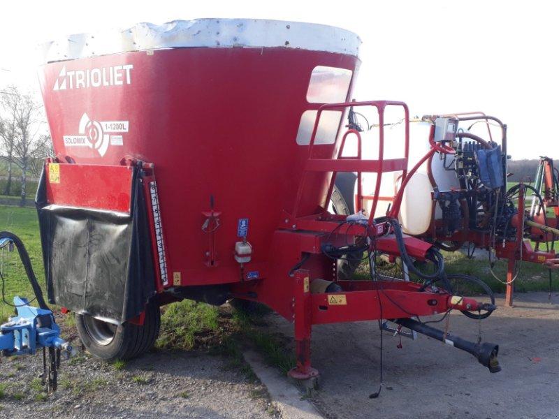 Futtermischwagen des Typs Trioliet Solomix 1-1200, Gebrauchtmaschine in Uffenheim (Bild 1)