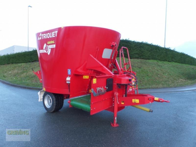 Futtermischwagen des Typs Trioliet Solomix 1-1200L, Gebrauchtmaschine in Werne (Bild 1)