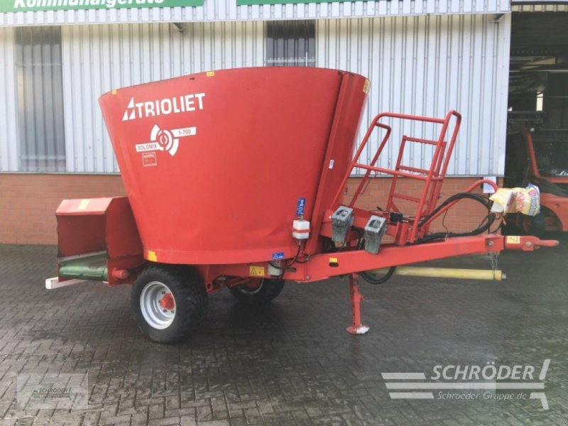 Futtermischwagen des Typs Trioliet Solomix 1-700 ALH, Gebrauchtmaschine in Twistringen (Bild 1)