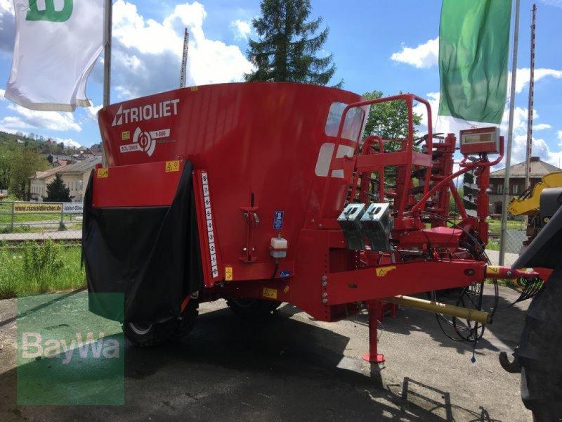 Futtermischwagen des Typs Trioliet SOLOMIX 1-800, Gebrauchtmaschine in Waldkirchen (Bild 1)
