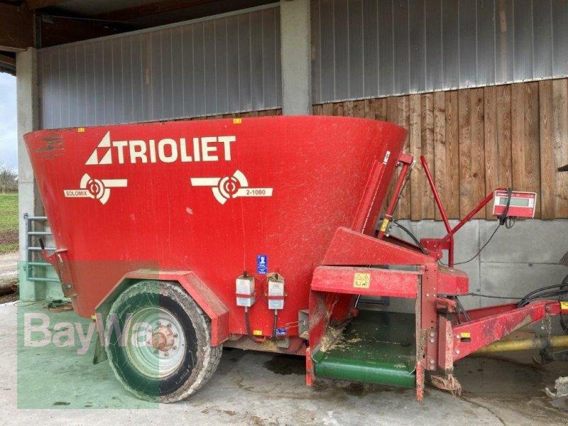 Futtermischwagen des Typs Trioliet Solomix 2-1000 VL, Gebrauchtmaschine in Altensteig (Bild 1)
