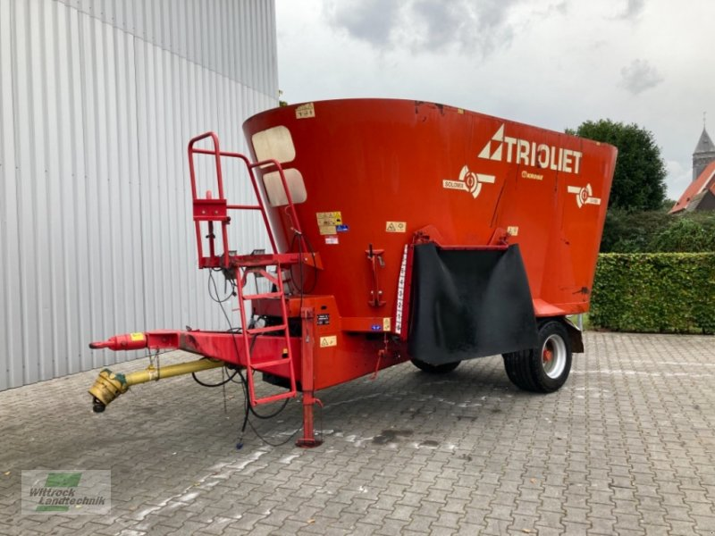 Futtermischwagen des Typs Trioliet Solomix 2-1600 ZK, Gebrauchtmaschine in Rhede / Brual (Bild 1)