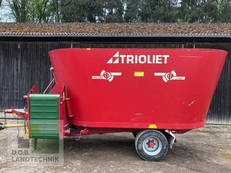 Futtermischwagen des Typs Trioliet Solomix 2-1600, Gebrauchtmaschine in Regensburg (Bild 1)
