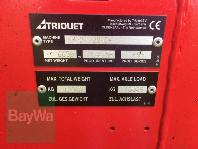 Futtermischwagen des Typs Trioliet Solomix 2-2000 neuwertig!, Gebrauchtmaschine in Dinkelsbühl (Bild 9)