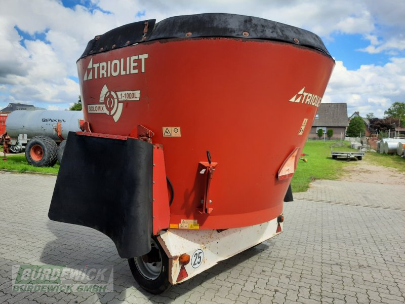 Futtermischwagen des Typs Trioliet Solomix SM 10, Gebrauchtmaschine in Lamstedt (Bild 4)