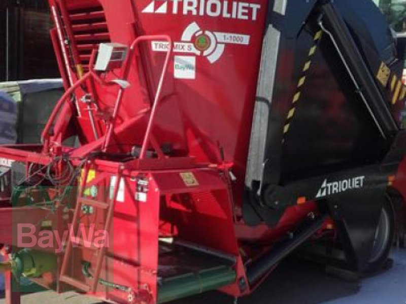Futtermischwagen des Typs Trioliet TRIOLIET TRIOMIX S1 1000 VF, Vorführmaschine in Ilsfeld