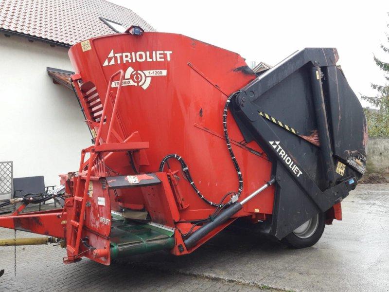 Futtermischwagen des Typs Trioliet Triomix 1-1200, Gebrauchtmaschine in Thalmässing (Bild 1)