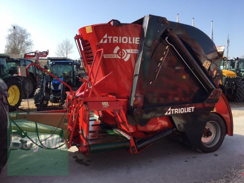 Futtermischwagen des Typs Trioliet Triomix 1-800 >>>Sofort einsatzbereit/ Sehr gepflegt<<<, Gebrauchtmaschine in Dinkelsbühl (Bild 4)